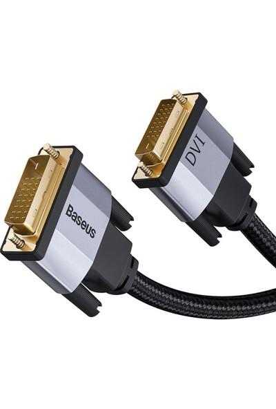 Baseus Enjoyment Series DVI to DVI HDTV Projeksiyon Kablo 1 mt CAKSX-Q0G