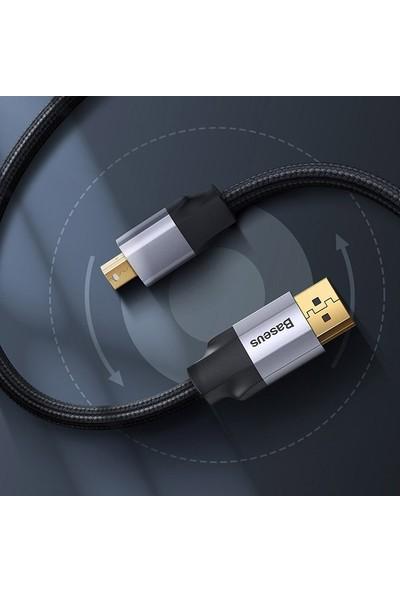 Baseus CAKSX-P0G Enjoyment Mini Displayport - HDMI Çevirici Kablo 3 mt