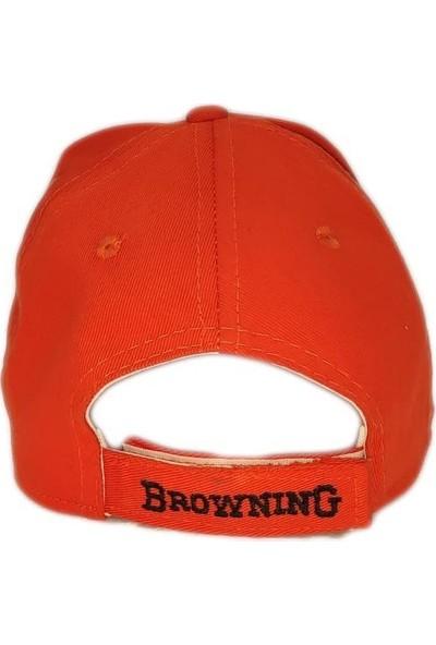 Arslantaş Browning Avcı Kamp Şapkası Turuncu
