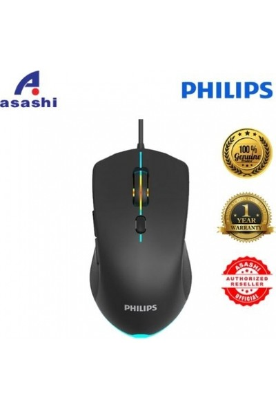 Philips SPK9404 6 Tuşlu Ambiglow Gaming Mouse Oyuncu Mouse