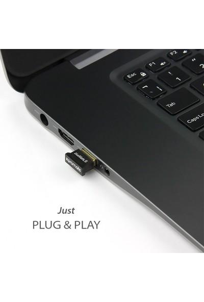 Promate Bluemate-5 Bluetooth USB Modem Dongle Kablosuz Tak Çalıştır