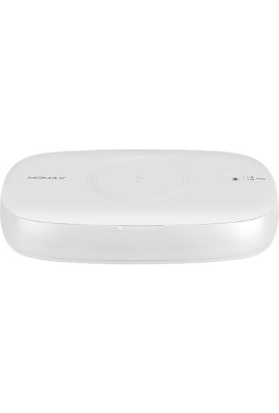 Momax Q Güç Uv Box Kablosuz Şarj Dezenfeksiyon Kutusu 10W Beyaz QU1W