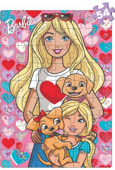 Diy-Toy Barbie 2 İn 1 Puzzle Seti