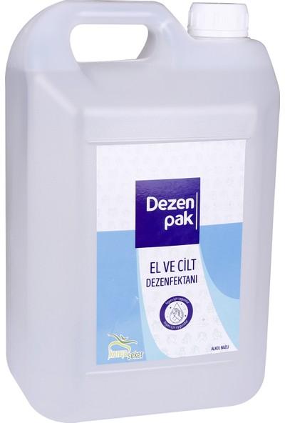 Konya Şeker Dezenpak El ve Cilt Dezenfektanı %70 5 lt