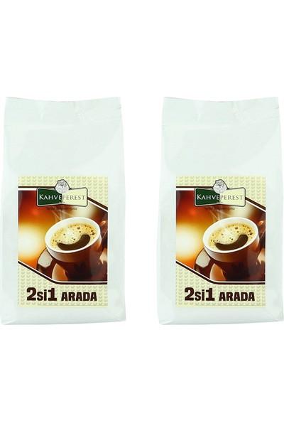 Kahveperest Hazır Kahve 2'si 1 Arada 2'li Paket 500 gr