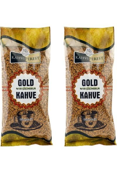 Kahveperest Çözünebilir Gold Kahve 2'li 100 gr