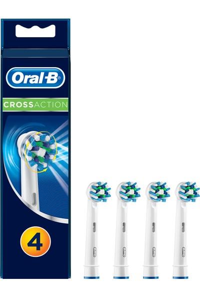 Oral-B Cross Action 4'lü Diş Fırçası Yedek Başlığı