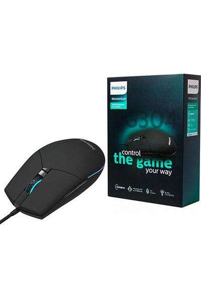 Philips SPK9304 6400DPI Ambiglow Gaming Mouse