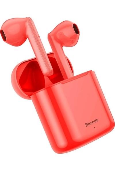 Baseus Encok W09 True Wireless Bluetooth Kulaklık Ngw09-09 - Kırmızı