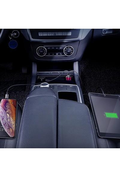Baseus 45W Hızlı Şarj 4.03.0 Dual USB Çıkışlı Araç Şarj Başlık