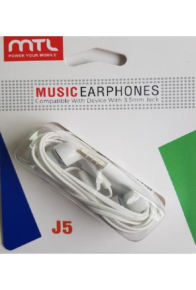 Mtl Mikrofonlu Kulak Içi Kulaklık