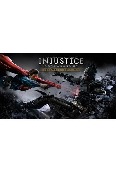Injustice Gods Among Us Ultimate Edition PSP Vita Oyun