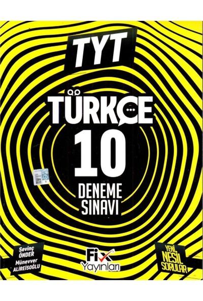 Fix Yayınları TYT Türkçe 10 Deneme