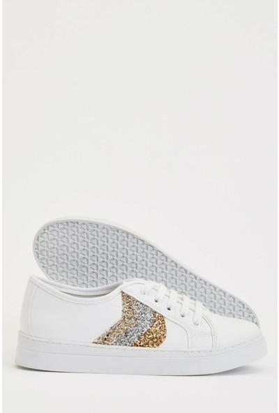 DeFacto Pul Detaylı Bağcıklı Sneaker Ayakkabı R5302AZ20SP