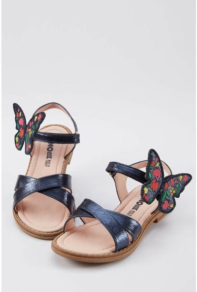 DeFacto Kız Çocuk Kelebek Detaylı Bantlı Sandalet