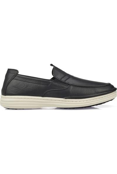 Uniquer Erkek Deri Ayakkabı 101117U 202131 Lacivert