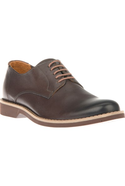 Ziya Erkek Deri Ayakkabı 101117U 438 Kahverengi