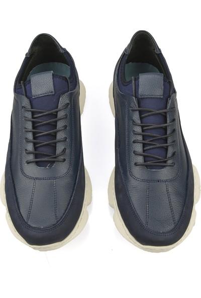 Uniquer Erkek Deri Ayakkabı 10112U 2510 Lacivert
