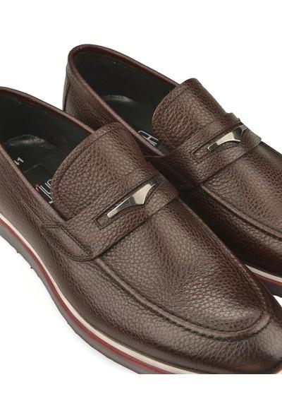 Ziya Erkek Deri Ayakkabı 10192 493 Bordo