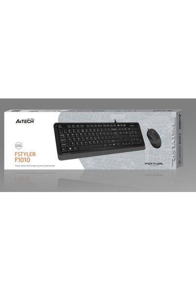 A4Tech F1010 Klavye + Mouse Set