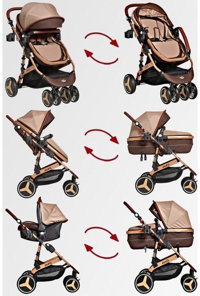 Joell 860 Gold Xari Travel Sistem Bebek Arabası