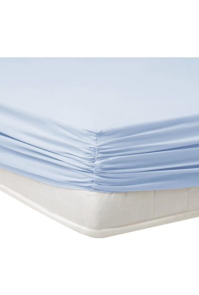Yataş Bedding Aria Lastikli Çarşaf (180X200 Cm) - Mavi
