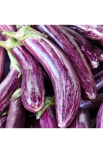 Mutlu Paket Alacalı Çizgili Patlıcan Tohumu 5 gr