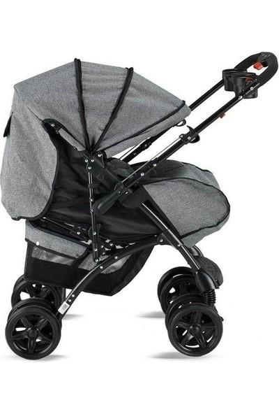 BabyHope BH - 609 Polo Çift Yönlü Bebek Arabası - Siyah