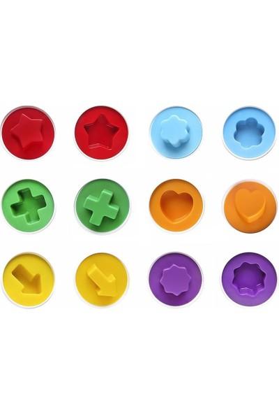 Hi-Q Toys 6'lı Sembol Şekilli Yumurtalar