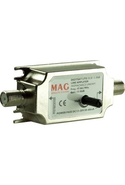 Mag In-Line ( 10-30 Db Ayarlanabilir Hatline ) Amplifier
