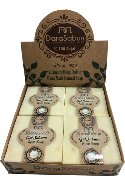 Dara Sabun Gül Sabunu - 4'lü Paket