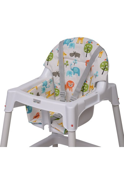Lava Baby Mama Sandalyesi Minderi - Sevimli Hayvanlar