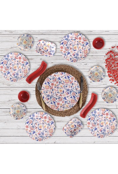 Keramika Kahvaltı Takımı 19 Parça