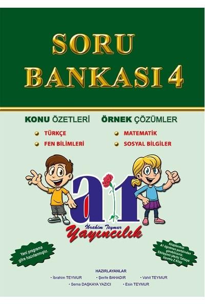 A1 Yayıncılık 4. Sınıf Tüm Dersler Soru Bankası