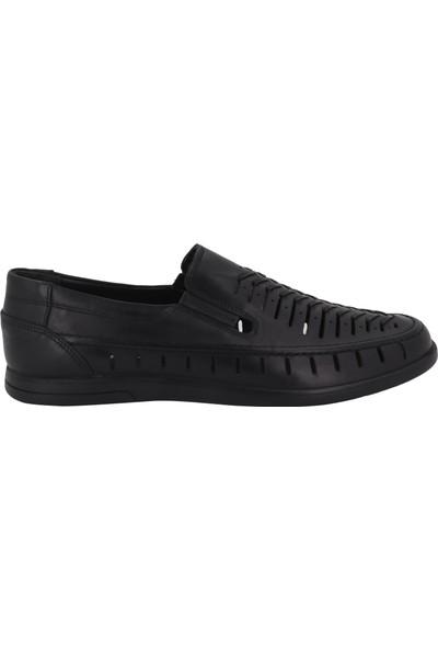 Hobby Siyah Yazlık Erkek Ayakkabı 3502