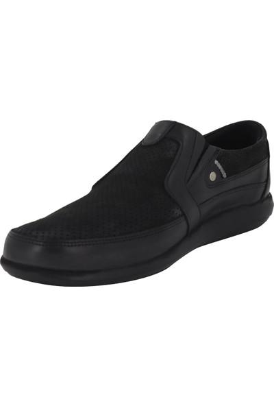 Hobby Siyah Yazlık Erkek Ayakkabı 3817