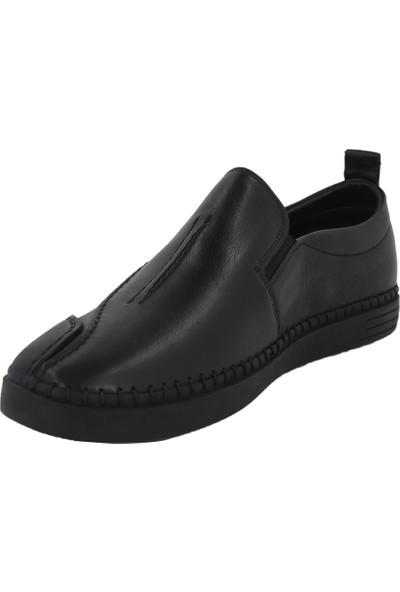 Hobby Siyah Yazlık Erkek Ayakkabı 3781