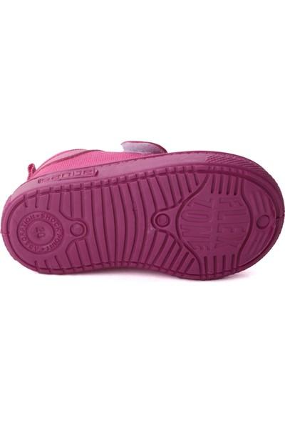 Sanbe 401 R 001 Anatomik Erkek/kız Çocuk Keten Ayakkabı Fuşya