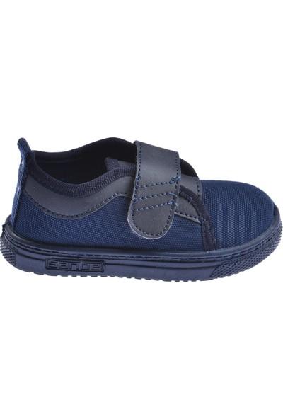 Sanbe 401 R 001 Anatomik Erkek/kız Çocuk Keten Ayakkabı Lacivert