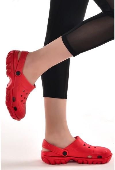 Muya 98006-3161 Sabo Hastane Unisex Sandalet Terlik Fusya