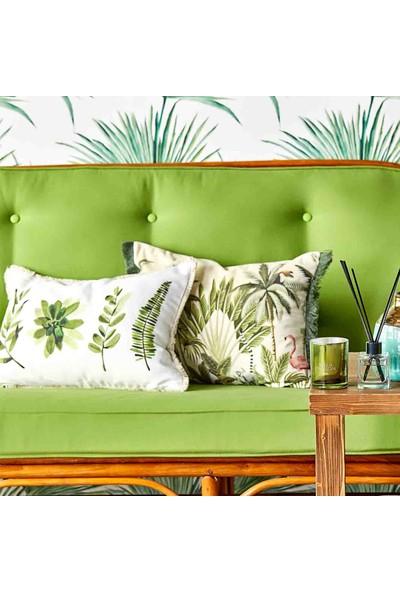 Bella Maison %100 Polyester Flores Dekoratif Yastık (35X50 Cm)