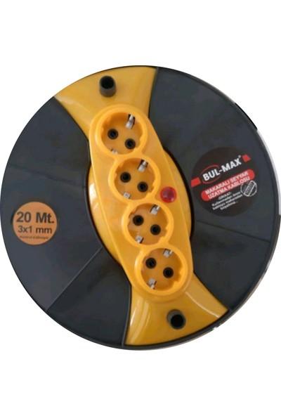 Bul-Max 20 mt 3x2,5 Seyyar Makara Kablo