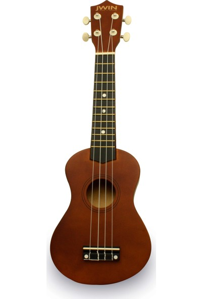 Jwin UK-2101 Soprano Ukulele Gitar - Kahverengi
