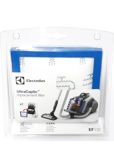 Electrolux Ultracaptic Elektrikli Süpürge Motor Koruma Filtresi EF137
