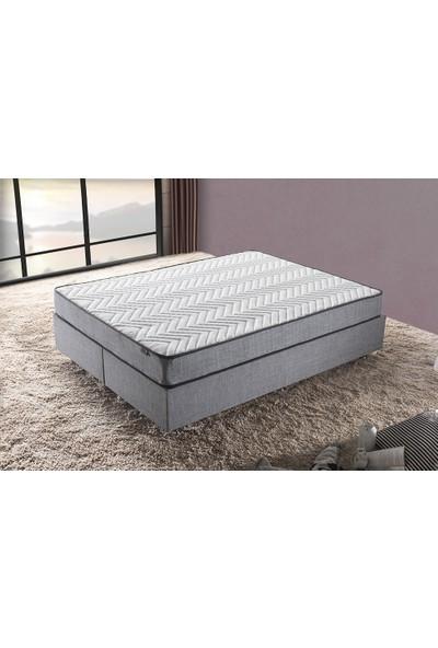 Niron Yatak Silver 160 x 200 Cm Sert Çift Kişilik Yatak