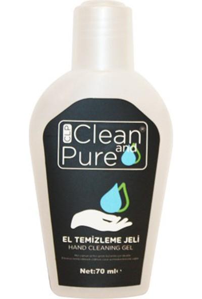 Clp Clean And Pure El Dezenfektan Jel 70 ml