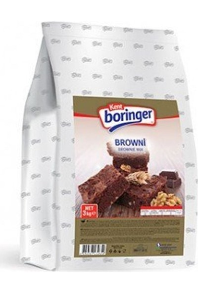Kent Boringer Brownie 3 kg