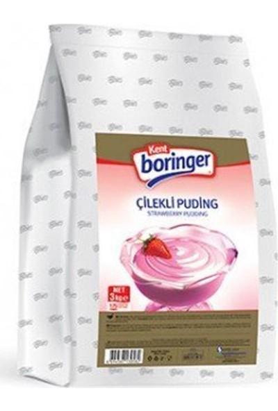 Kent Boringer Çilekli Puding 3 kg