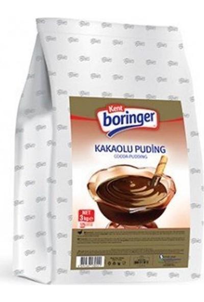 Kent Boringer Kakaolu Puding 3 kg