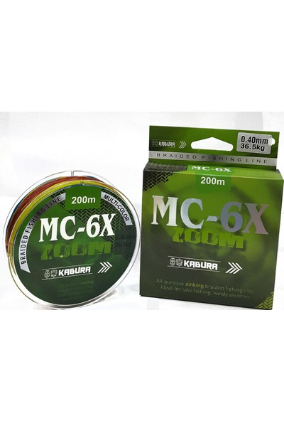 Kabura Mc-6x Multi Colour 0,12 mm 200MT Ip Misina
